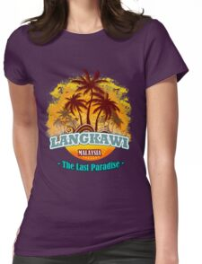 Langkawi The Last Paradise Womens Fitted T-Shirt