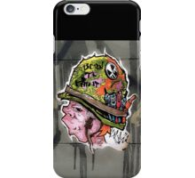 Born to paint! iPhone Case/Skin