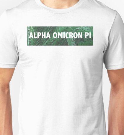 Alpha Omicron Pi Palms Unisex T-Shirt