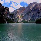 The Seekofel and lake Braies by annalisa bianchetti