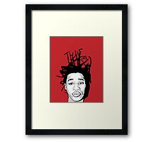 Young Thug Framed Print
