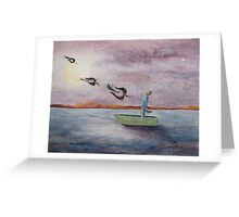 Messengers Greeting Card