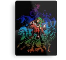 Majora's Mask - Colored Metal Print