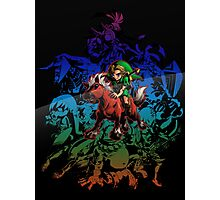 Majora's Mask - Colored Photographic Print