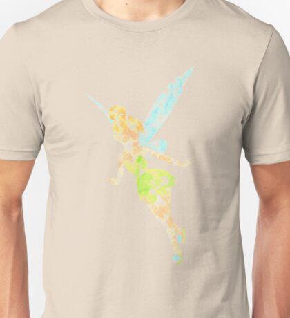 Tinkerbell grunge watercolour print Unisex T-Shirt