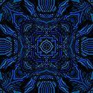 Waves of Blue by Julie Everhart by Julie Everhart