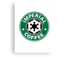 Imperial Coffee Canvas Print