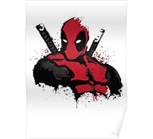 DeadPool shirt Poster