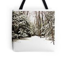 Virgin Snow Tote Bag