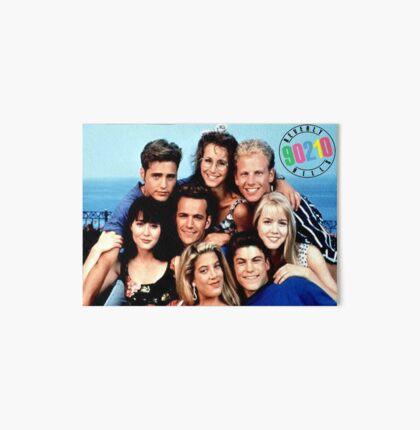 90210-cast Art Board