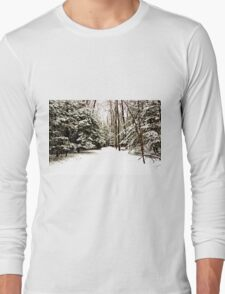 Virgin Snow Long Sleeve T-Shirt