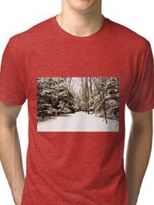 Virgin Snow Tri-blend T-Shirt