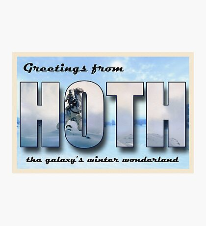 Hoth Postcard Photographic Print