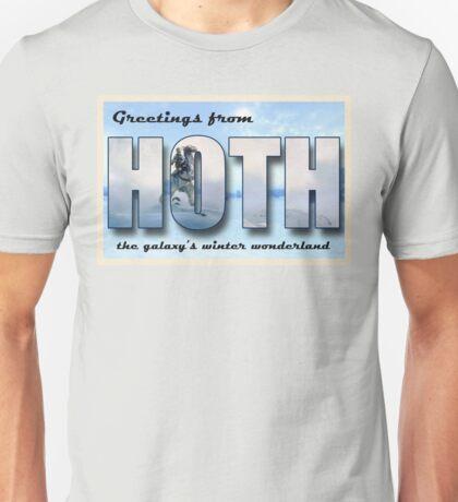 Hoth Postcard Unisex T-Shirt