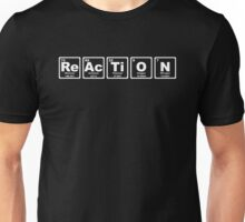 Reaction - Periodic Table Unisex T-Shirt