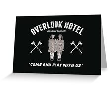 Overlook Hotel Greeting Card