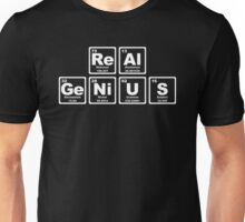 Real Genius - Periodic Table Unisex T-Shirt