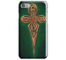 celtic cross dagger  iPhone Case/Skin
