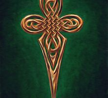 celtic cross dagger  by thomasjart