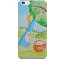 Apple harvest iPhone Case/Skin