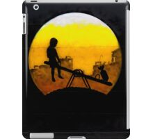 Dangerous games in Shoreditch, London! iPad Case/Skin