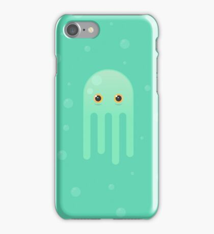Lime Jellyfish iPhone Case/Skin