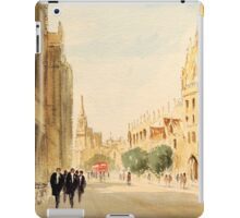 Oxford Students In The High Street iPad Case/Skin