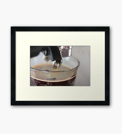 Espresso! Framed Print