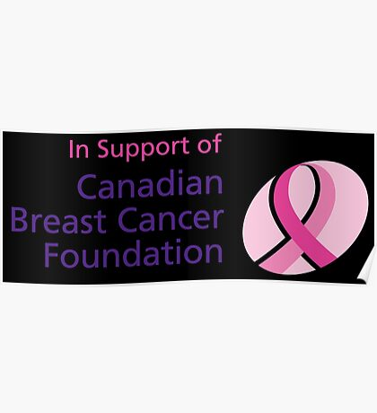 Canadian Breast Cancer Poster