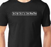 Sociopath - Periodic Table Unisex T-Shirt
