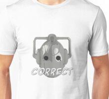 Doctor Who Cyberman Correct Unisex T-Shirt