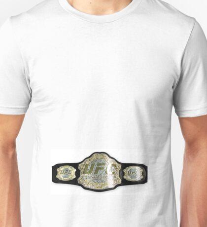 UFC belt Unisex T-Shirt