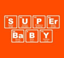 Super Baby - Periodic Table Kids Clothes