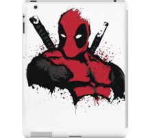 DeadPool shirt iPad Case/Skin
