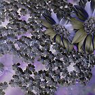 FLORAL FRENZY IN PURPLE by nonarom