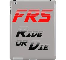 Frs Ride or Die Limited Edition iPad Case/Skin