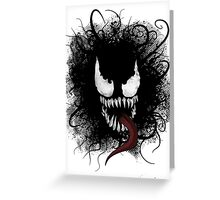 symbiote Greeting Card