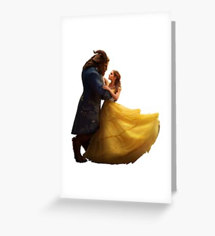 Beauty and the Beast (sticker) Greeting Card