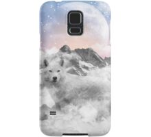 The Soul That Sees Beauty (Winter Moon / Wolf Spirit) Samsung Galaxy Case/Skin