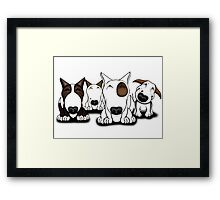 EBT Group Cartoon Design  Framed Print