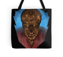 Where Does the Man End - And The Beast Begin? Tote Bag