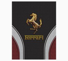 Ferrari Lover [NEW ~ Gold] Kids Clothes