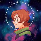 The Green Paladin - Pidge  by kickingshoes