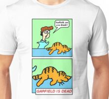GARFIELD IS DEAD Unisex T-Shirt