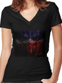 The Last Knight... Women's Fitted V-Neck T-Shirt