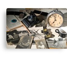 About Time : the photographer desk Canvas Print