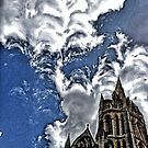 Distorted Truro cathedral by Asrais