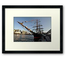 James Craig @ Darling Harbour, Sydney, Australia 2013 Framed Print