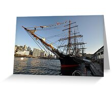 James Craig @ Darling Harbour, Sydney, Australia 2013 Greeting Card