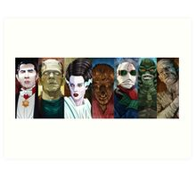 Monster Squad Art Print